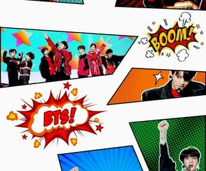 anpanman, kpop, and bts image