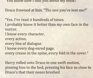 draco malfoy, fandom, and harry potter image