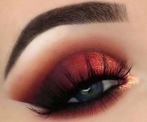 makeup, fashion, and lashes image