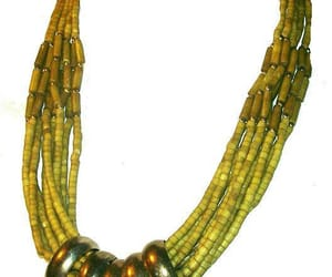 beaded necklace, vintage necklace, and etsy image