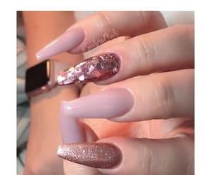 nails, pink, and blush image