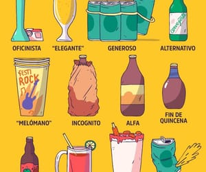 beer, cerveza, and pictoline image