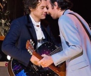 mitch and Harry Styles image