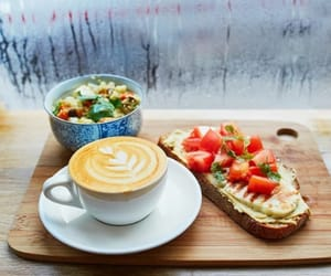 breakfast, Hot, and tomatoes image