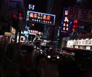 china, dark, and night image