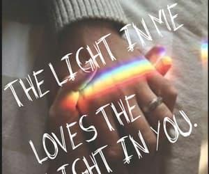 inspiration, light, and me and you image