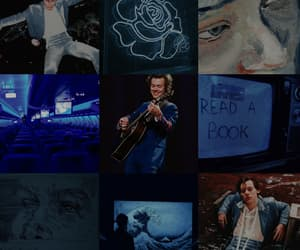 aesthetic, blue, and styles image