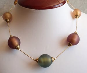 costume jewelry, vintage necklace, and chunky necklace image