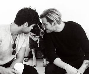 alexander, boys, and dog image