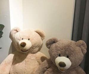 aesthetic, bear, and beige image