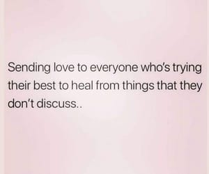 healing, life, and quote image
