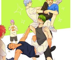 kuroko no basket, anime, and funny image
