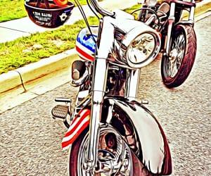america, bike, and motorcycle image