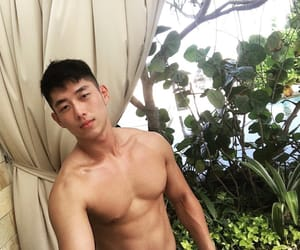 abs, asian, and Hot image