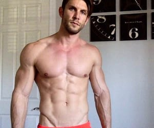 abs, bulge, and gay image