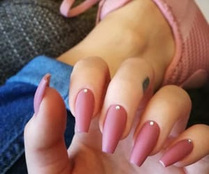 diamonds, nails, and mauvenails image