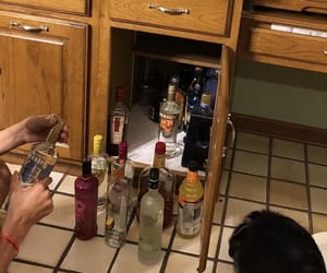alcohol, brown, and liquor image