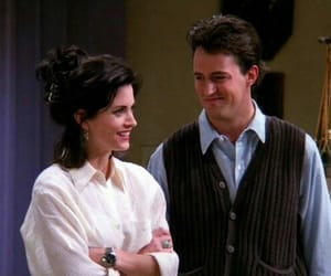 friends, mondler, and chandler bing image