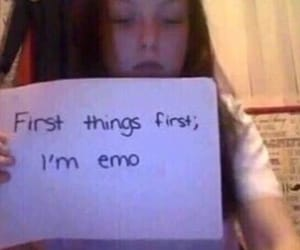 meme, emo, and reaction image