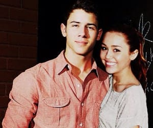 manip, miley cyrus, and nick jonas image