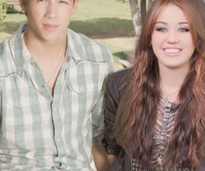 niley, miley cyrus, and nick jonas image