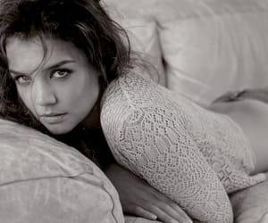 denim, Katie Holmes, and model image