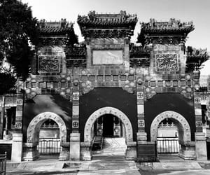 architecture, beijing, and park image