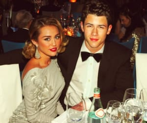 miley cyrus, nick jonas, and disney channel love image