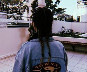 hair, tumblr, and fashion image