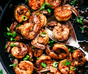 butter, food, and shrimp image