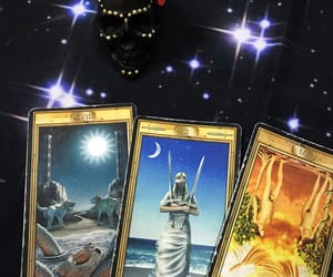 cards, Таро, and magic image