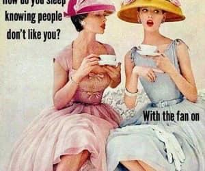 insult, joke, and having tea image