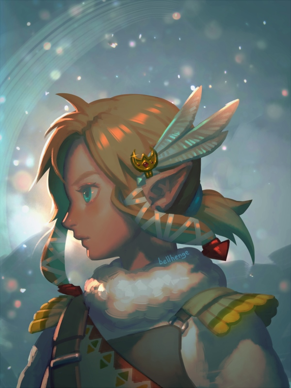 Stunning Legend Of Zelda Fan Art On We Heart It