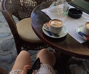 aesthetics, cafe, and coffee image