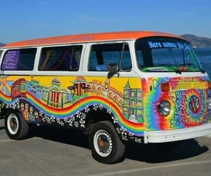 funny, hand painted, and hippies image