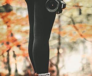 fashion, photography, and autumn image