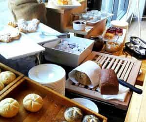 breakfast, buffet, and yummy image