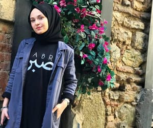 hijab, outfit, and cute image