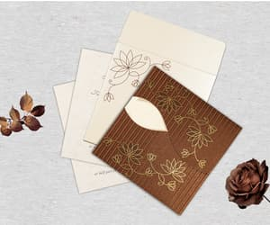 floral invitations, floral cards, and floral wedding cards image