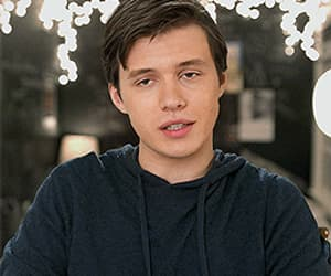 actor, nick robinson, and funny face image