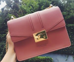 beautiful, pink, and handbag image