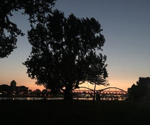 black, bridge, and city image