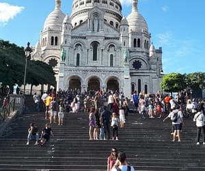 montmartre, monument, and ❤ image