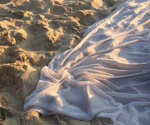 beach, aesthetic, and sand image