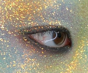 eye, shimmer, and sparkle image