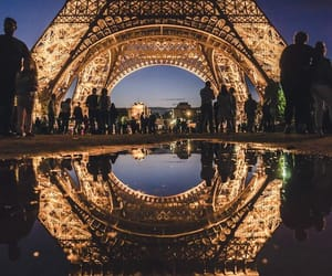 paris, france, and travel image