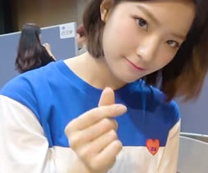 lq, saerom, and fromis_9 image