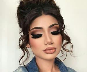 beauty, make-up, and tumblr image