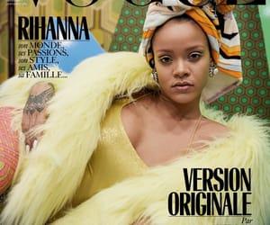 rihanna, cover, and vogue image