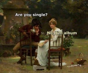 funny, single, and album image